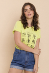 T-SHIRT BIRTHFLOWER GUIDE VERDE LOLA