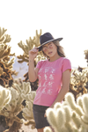 T-SHIRT BIRTHFLOWER GUIDE PINK
