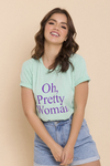 T-SHIRT PRETTY WOMAN ICE JADE - comprar online