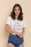 T-SHIRT PRETTY WOMAN BRANCO