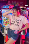 T-SHIRT DON'T MONEY ROSA LOLA RMN