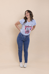 T-SHIRT MIAMI VICE AZUL JEANS