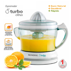 Espremedor Turbo Citrus