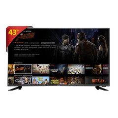 "Tv Led 43"" Philco Smart 4K PTV43F61DSWNT - DTV, Wi-Fi, Processador Dual Core, HDMI e USB"