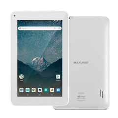 Tablet M7S GO Wi-Fi 7 Pol. 16GB Quad Core Android 8.1 Branco NB317 - Multilaser