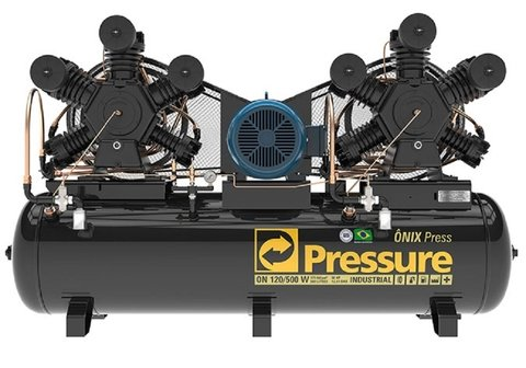 Ônix Press - 120/500 W - Pressure - 30HP - 500 Litros