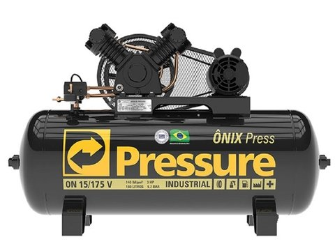 Ônix Press - 15/175 V - Pressure - 3HP - 175 Litros