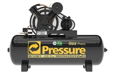 Ônix Press - 15/200 V - Pressure - 3HP - 200 Litros