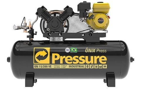 Ônix Press VE 15/200 - Pressure - 6,5HP - 200 Litros