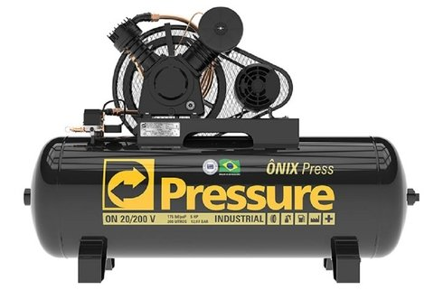 Ônix Press - 20/200 V - Pressure - 5HP - 200 Litros