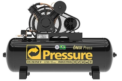 Ônix Press - 20/250 V AP - Pressure - 5HP - 250 Litros