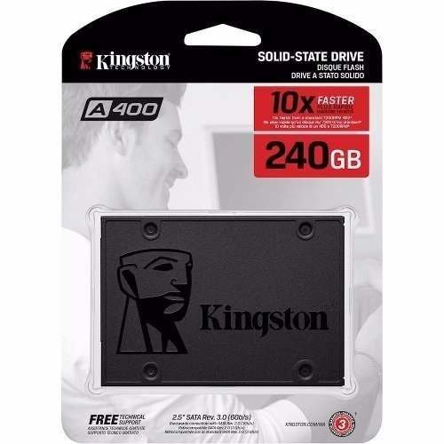 Ssd Disco De Estado Solido Kingston 240gb 500mbps Cbafederal