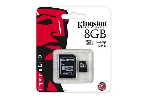 Memoria Micro Sd Kingston 8gb Clase 4 Local Nva Cba