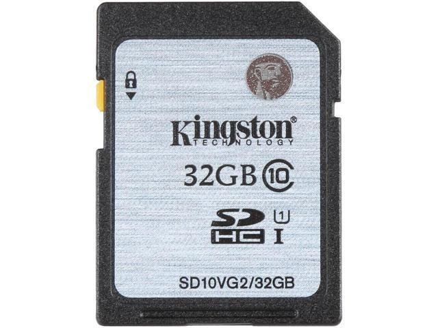 Kingston Micro Sdhc 32gb Uhs-i Clase 10 Sd P/ Camaras Reflex