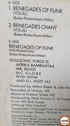 Afrika Bambaataa & Soul Sonic Force - Renegades Of Funk! na internet