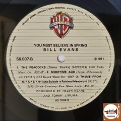 Bill Evans - You Must Believe In Spring - Jazz & Companhia Discos