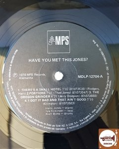 Hank Jones Trio - Have You Met This Jones na internet