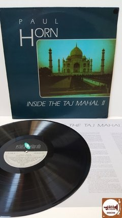 Paul Horn - Inside The Taj Mahal 2 (c/ encarte)