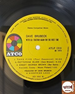 Dave Brubeck - We're All Together Again For The First Time - Jazz & Companhia Discos