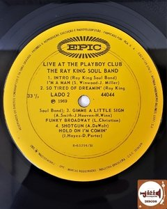Ray King Soul Band - Ao Vivo No Playboy Club (1969) - Jazz & Companhia Discos