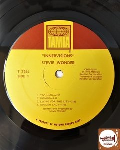 Stevie Wonder - Innervisions (Imp. EUA / Orig. Press) - loja online