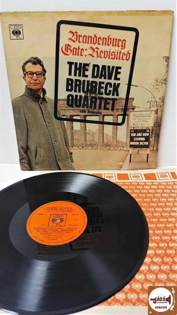 The Dave Brubeck Quartet - Brandenburg Gate: Revisited (1963/Mono)