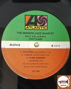 The Modern Jazz Quartet - Sait On Jamais (c/ encarte) na internet