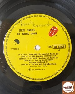 The Rolling Stones - Sticky Fingers (c/ zipper e encarte - 1971) - Jazz & Companhia Discos