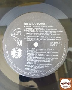 The Who's Tommy - Original Cast Recording (Duplo/Com encarte) na internet