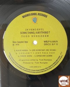 Todd Rundgren - Something/Anything? - Jazz & Companhia Discos