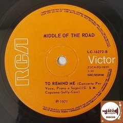 Middle Of The Road - Soley Soley / To Remind Me (1971) na internet