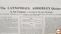 The Cannonball Adderley Quintet - In San Francisco na internet