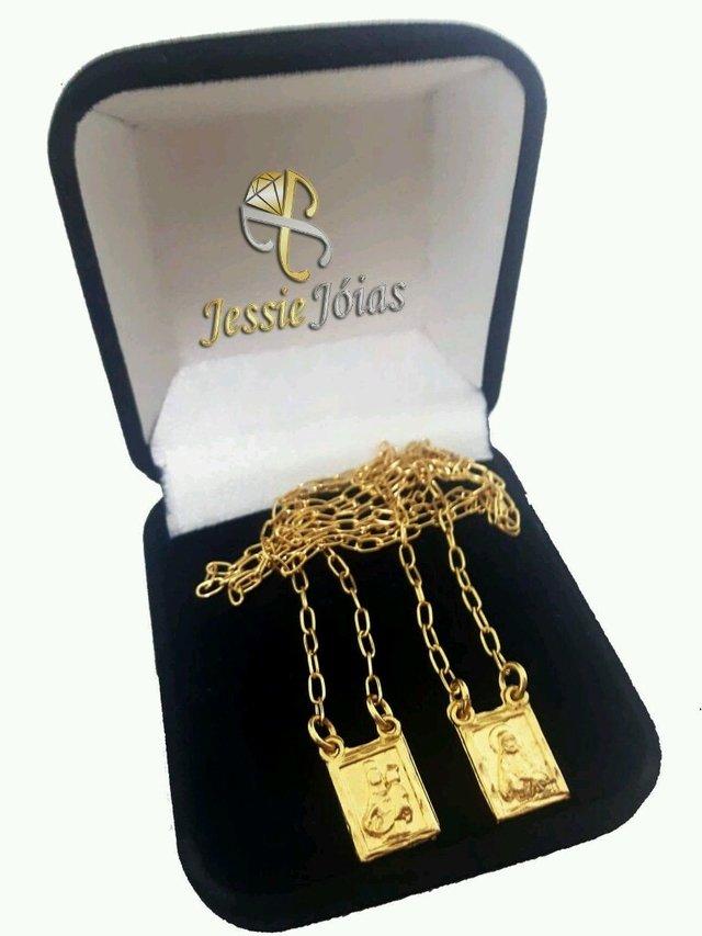 7f507e0549593 ... Escapulário Cartier Masculino Folheado a Ouro 18k   60cm - comprar  online ...