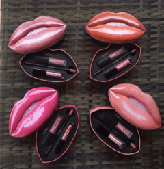 SET DE LABIAL - HUNA BEAUTY .
