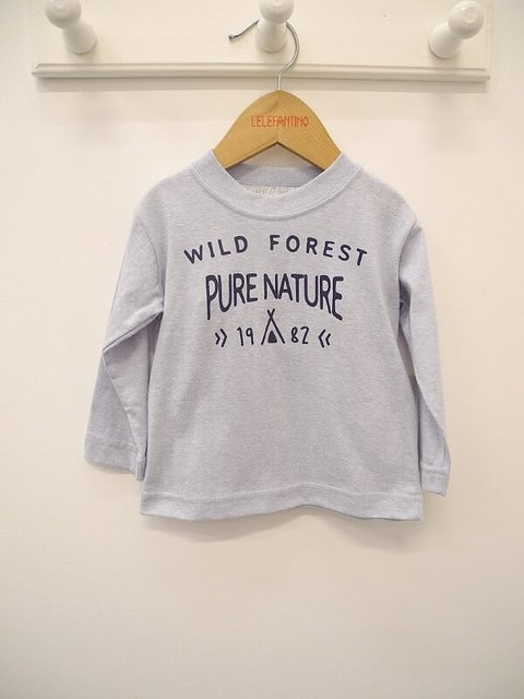 REMERA LISA WILD FOREST