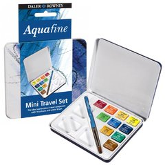 Acuarela Aquafine 10 pastillas Mini Travel Set