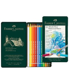 Set Faber-Castell 12 LÁPICES ACUARELABLES Profesionales