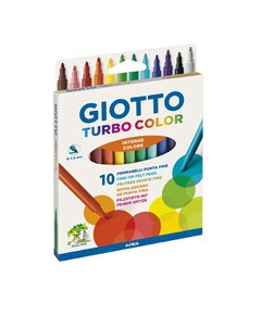 Marcadores GIOTTO 10 colores TURBO COLOR