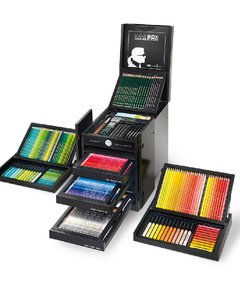 CAJA FABER-CASTELL KARLBOX. COLOURS IN BLACK