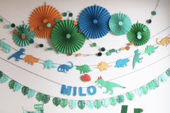 "Deco Pared ""Dinos"""
