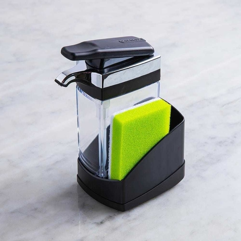 Dispenser Black con Esponja | Casabella