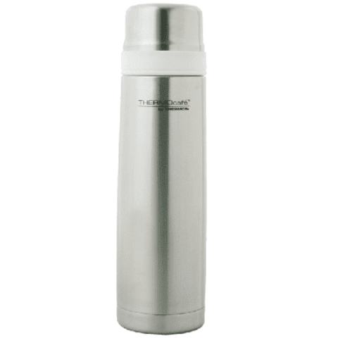Termo Flat Top Thermos 1L Silver