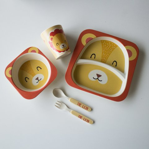 Eco Kids Set 5 piezas Lion