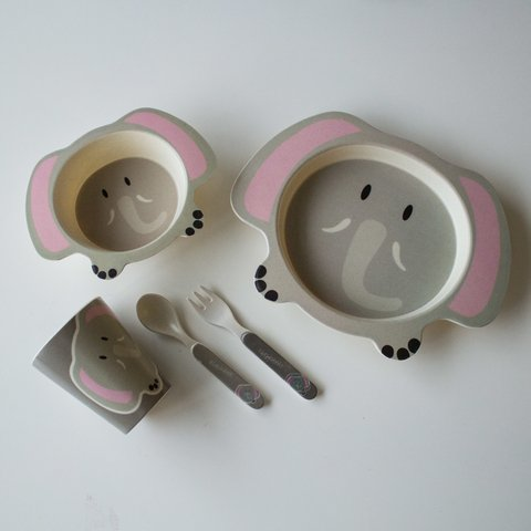 Eco Kids Set 5 piezas Elephant