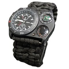 Relogio Paracord Watch Preto