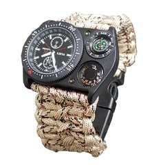 Relogio Paracord Watch Desert Digital
