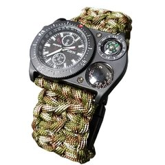 Relogio Paracord Watch Multicam
