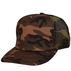GORRA TRUCKER CAMUFLADA RED
