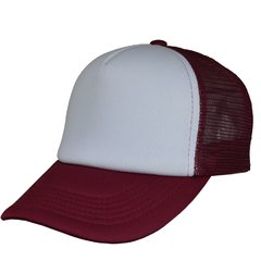 CAP TRUCKER STYLE PLAIN FRENTE BLANCO (copia)