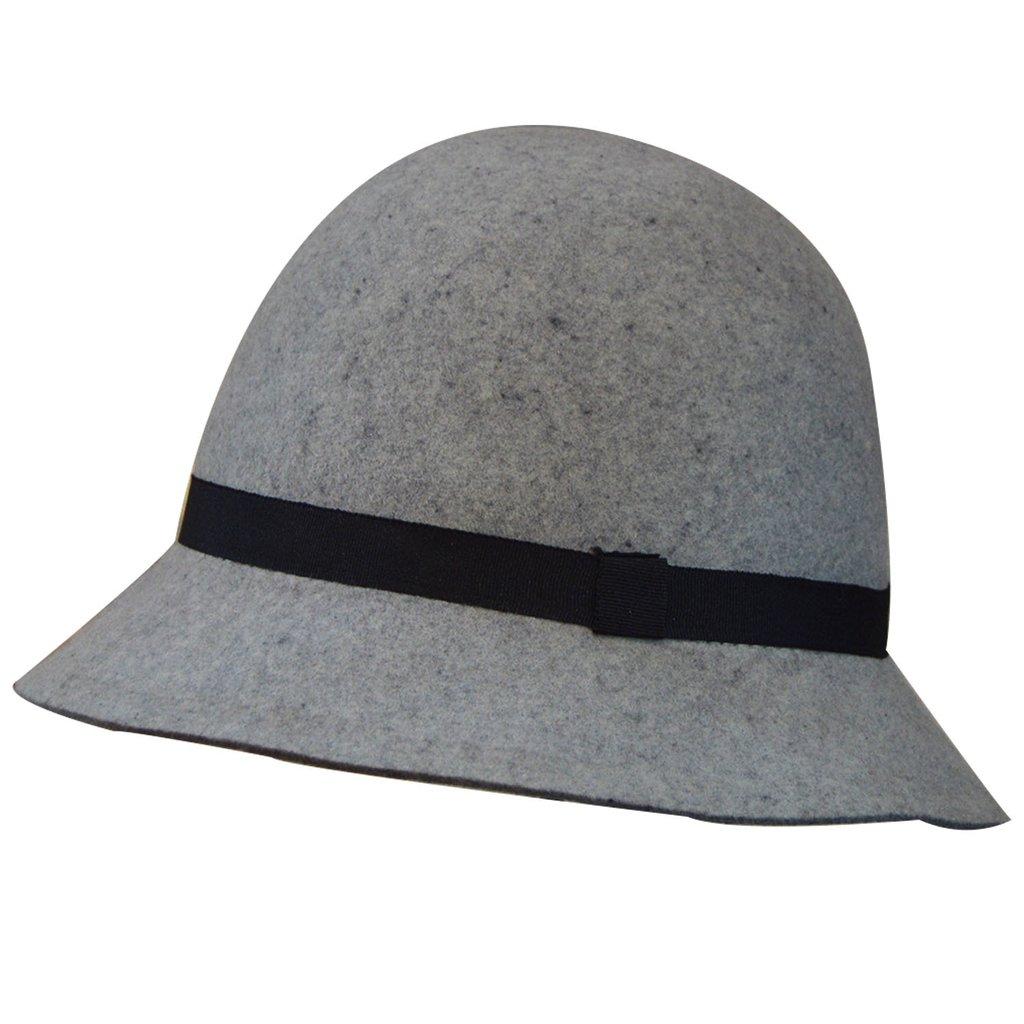 039430214f15e SOMBRERO CLOCHE FIELTRO PREMIUN - Compania de Sombreros